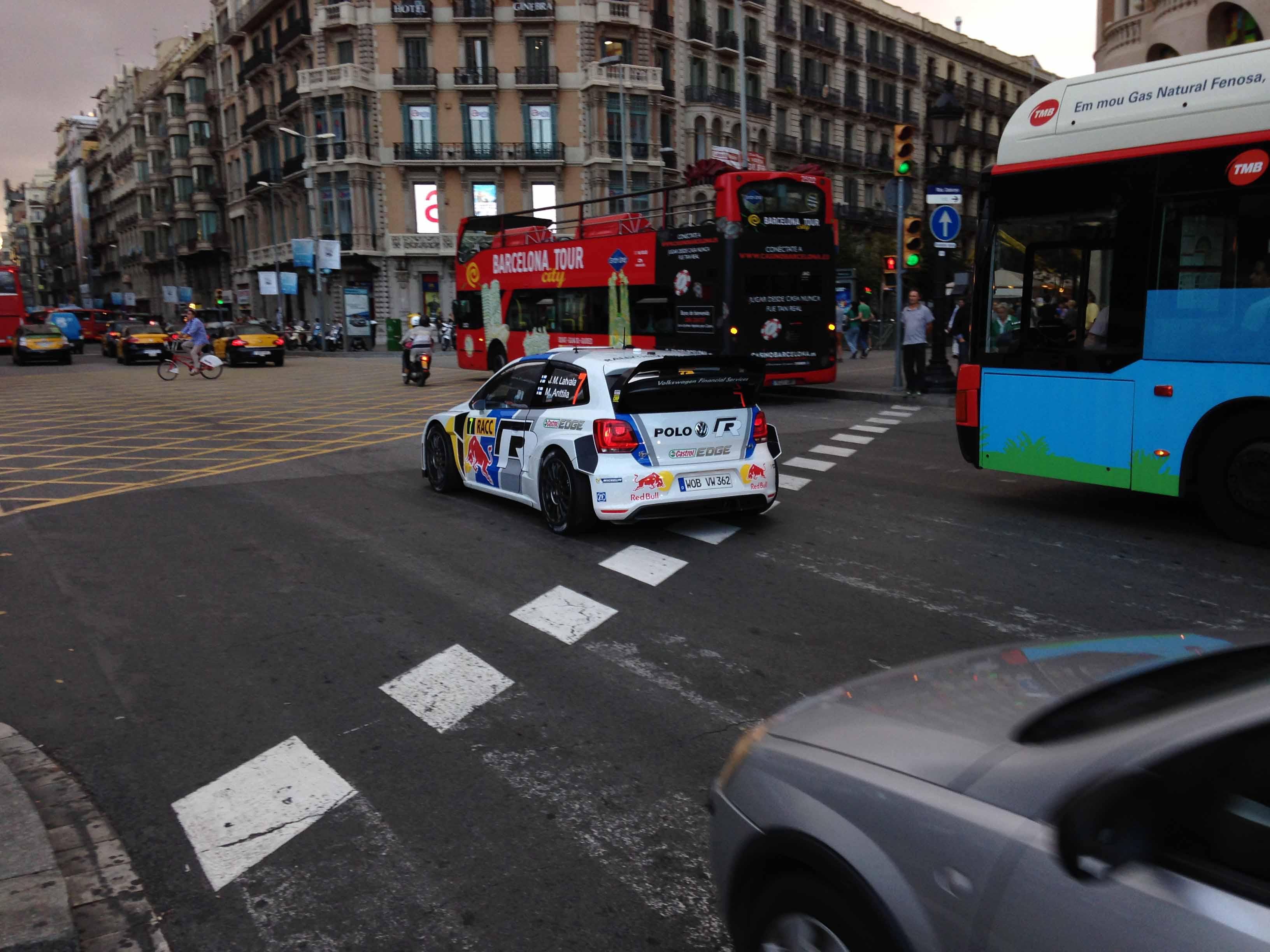 WRC in città